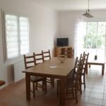 Location Herault Languedoc | Salon terrasse television| Gite La Salsepareille