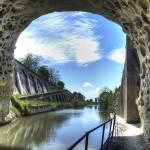 Hérault Canal du Midi Tunnel Malpas proche Gite La Salsepareille