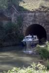 Hérault Nissan lez Ensérunes Tunnel Malpas proche Gite La Salsepareille