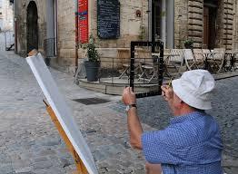 Hérault Pezenas concours de peinture proche Gite La Salsepareille