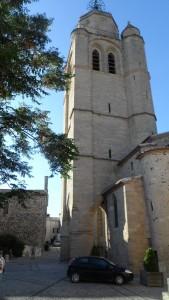 Eglise de Caux dans l'Hérault proche du Gite la salsepareille