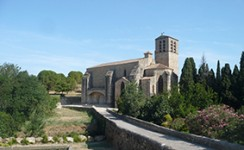 Eglise de Fontes proche de la location
