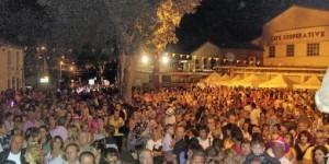 Nuit du rosée à Fontès, Foule