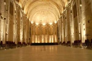 Roujan, Chateau abbaye de Cassan, coeur de l'Eglise