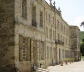 Roujan, chateau abbaye de Cassan, Facade