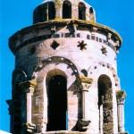 Lanterne du château abbaye de Cassan à Roujan