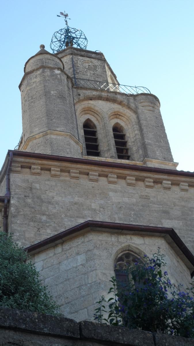 Caux 34720 dans le Languedoc Hérault  | l'église