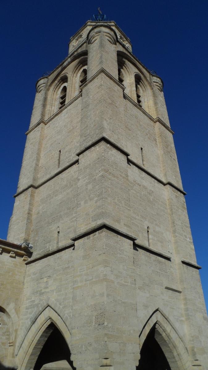 Caux 34720 dans le Languedoc Hérault  | le clocher