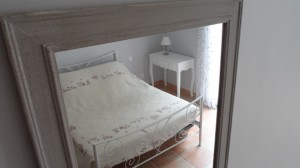 holidays rental languedoc  grey bedroom